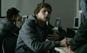 Jesse Eisenberg as Mark Zuckerberg